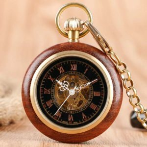 The Bedfordshire Wooden Pocket Watch UK