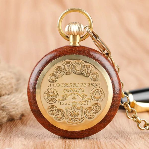 The Bedfordshire Wooden Pocket Watches UK