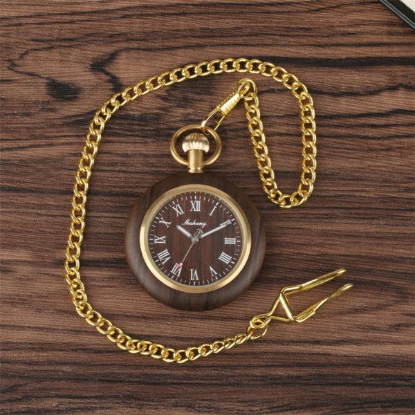 The Berkshire Wooden Pocket Watch UK