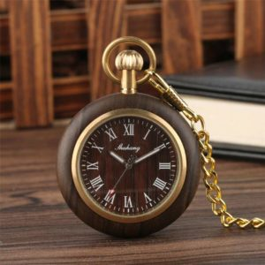 The Berkshire Wooden Pocket Watch UK