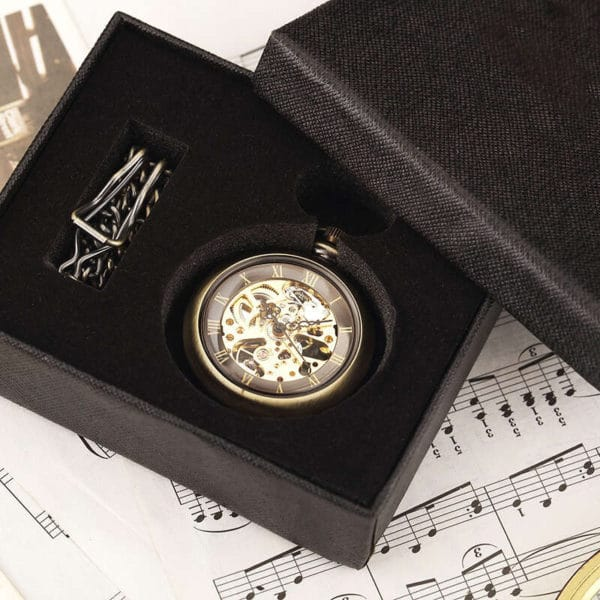 The Cambridgeshire Open Face Pocket Watch UK 8