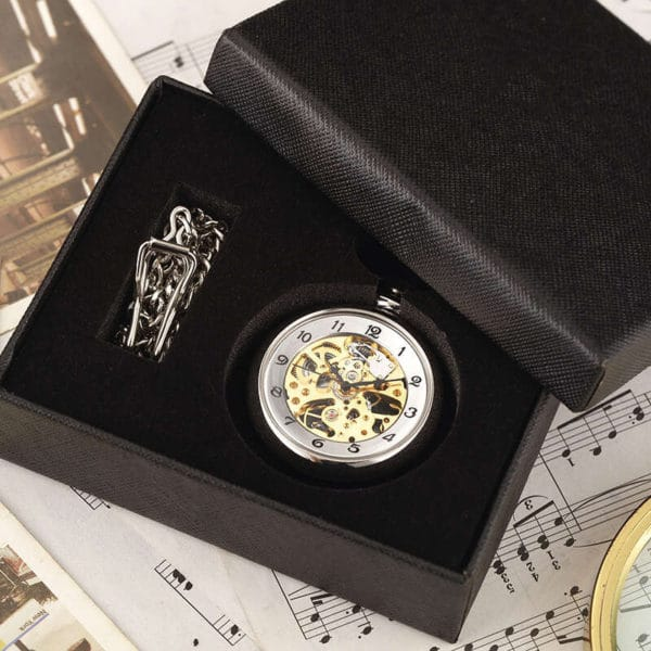 The Cheshire Open Face Pocket Watch UK 8