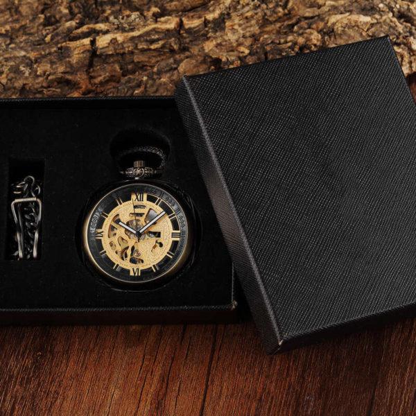 The Cornwall Bronze Pocket Watch UK 5