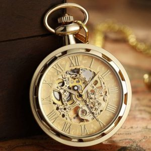The Devon Gold Pocket Watch UK 1