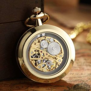 The Devon Gold Pocket Watch UK 2
