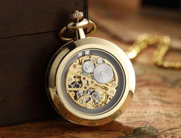 The Devon Gold Pocket Watch UK 2