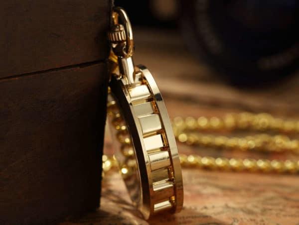 The Devon Gold Pocket Watch UK 3