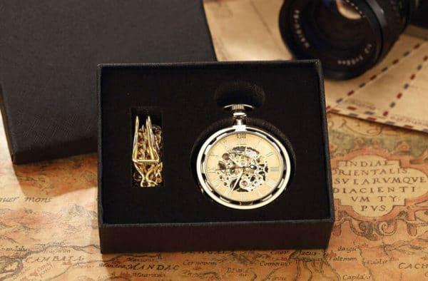 The Devon Gold Pocket Watch UK 4
