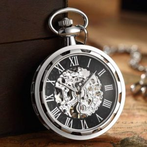 The Dorset Silver Pocket Watch UK 1