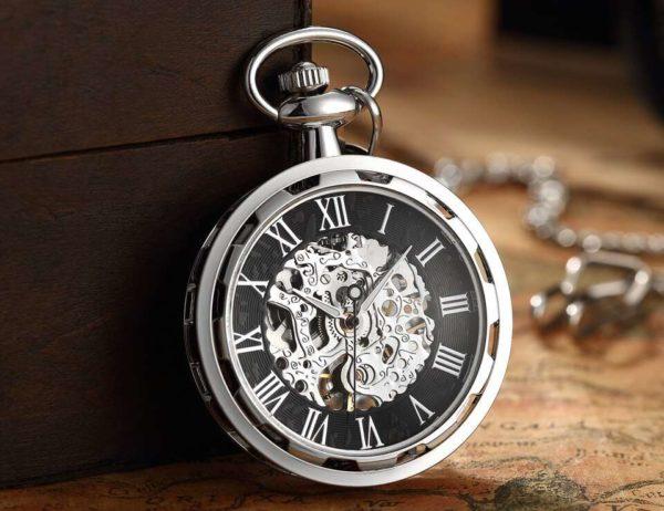 The Dorset Silver Pocket Watch UK 1