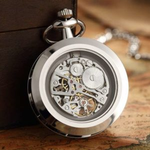 The Dorset Silver Pocket Watch UK 2
