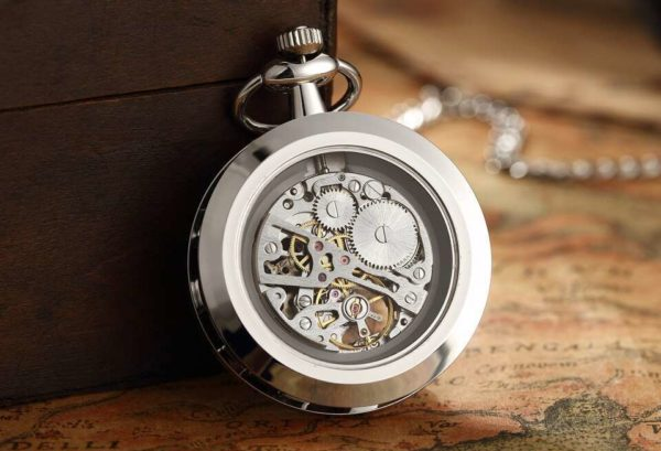 The Dorset Silver Pocket Watch UK 2