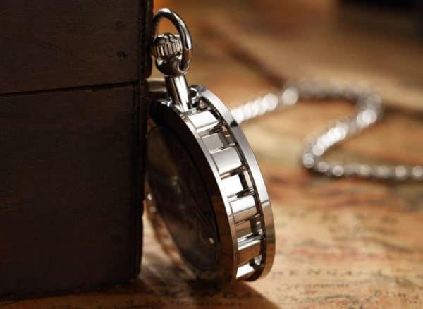 The Dorset Silver Pocket Watch UK 3