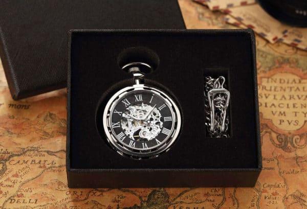 The Dorset Silver Pocket Watch UK 4