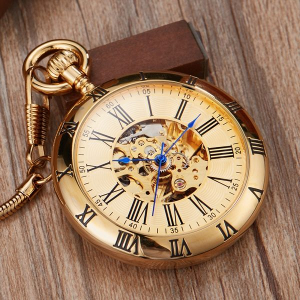 The Hertfordshire Gold Open Face Pocket Watch UK 1