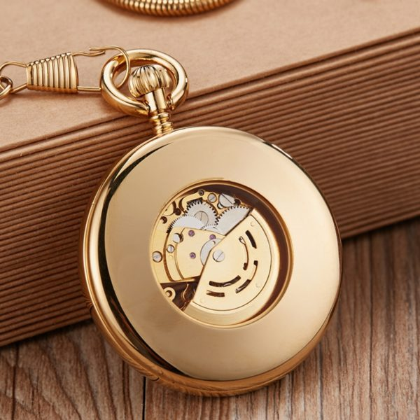 The Hertfordshire Gold Open Face Pocket Watch UK 2