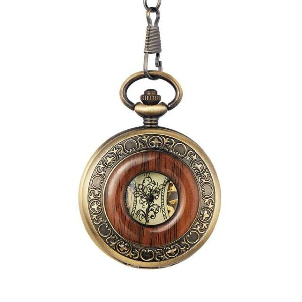 the hampshire pocket watch with chain uk