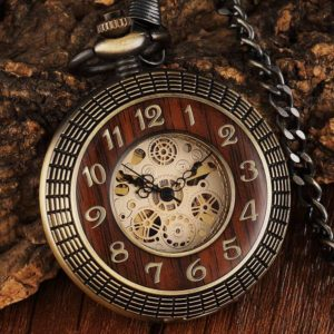 the herefordshire wooden pocket watch uk