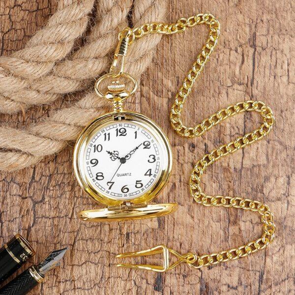 The Kent Gold Pocket Watch UK 3