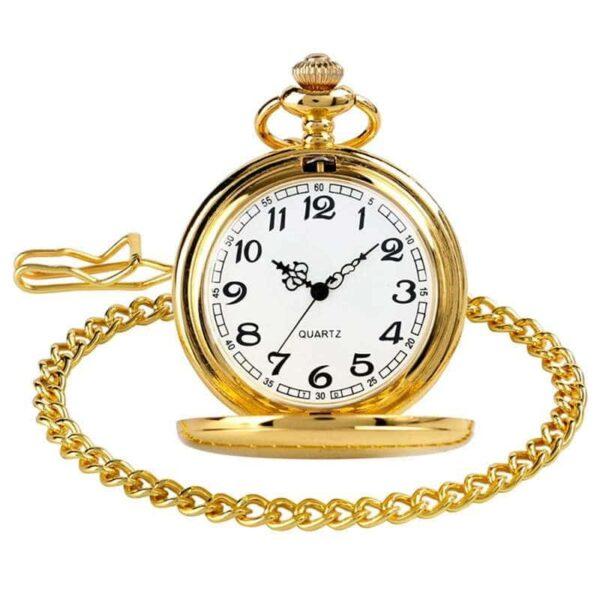 The Kent Gold Pocket Watch UK 4