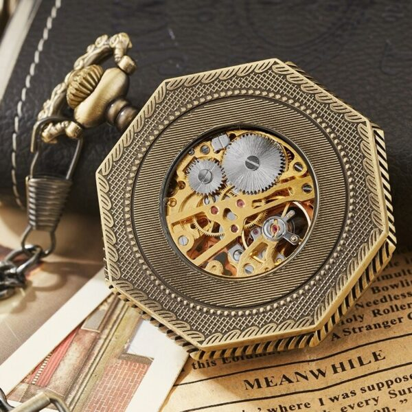 The Northumberland Mens Pocket Watch UK 3