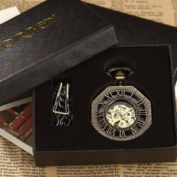 The Northumberland Mens Pocket Watch UK 4