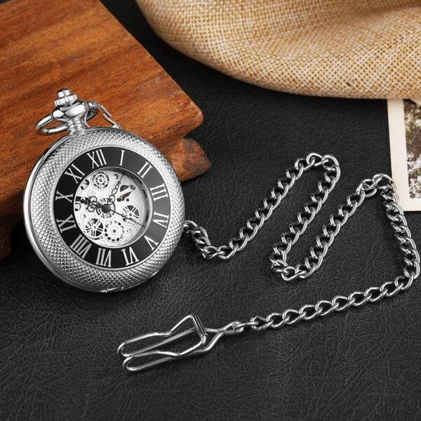 The Nottinghamshire Mens Pocket Watch UK 3