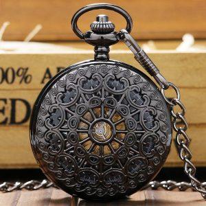 The Humberside Black Pocket Watch UK 1