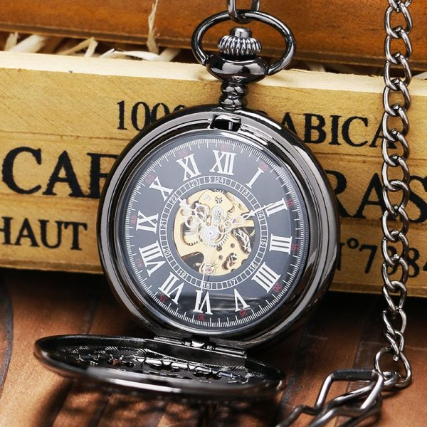 The Humberside Black Pocket Watch UK 2